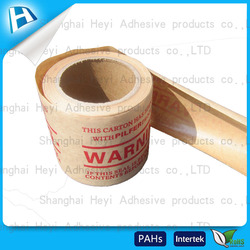 Brown Custom Kraftpaper Tape and Can Offer Printing Fiber Kraft Paper Tape Size 60mm*50m Good Brand