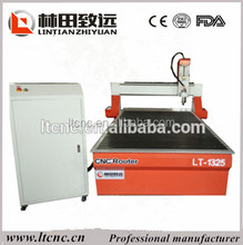 CE certificated 1300x2500mm Woodworking cnc router 1325 with 3kw spindle motors