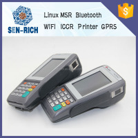 Linux POS Terminal/Handheld POS Terminal with Thermal Printer,Wireless