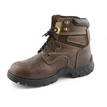 New model buffalo leather bonding safety shoes