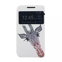Smartphone Back Cover Flip PU Case for Motorola Moto G3 Phone Cases