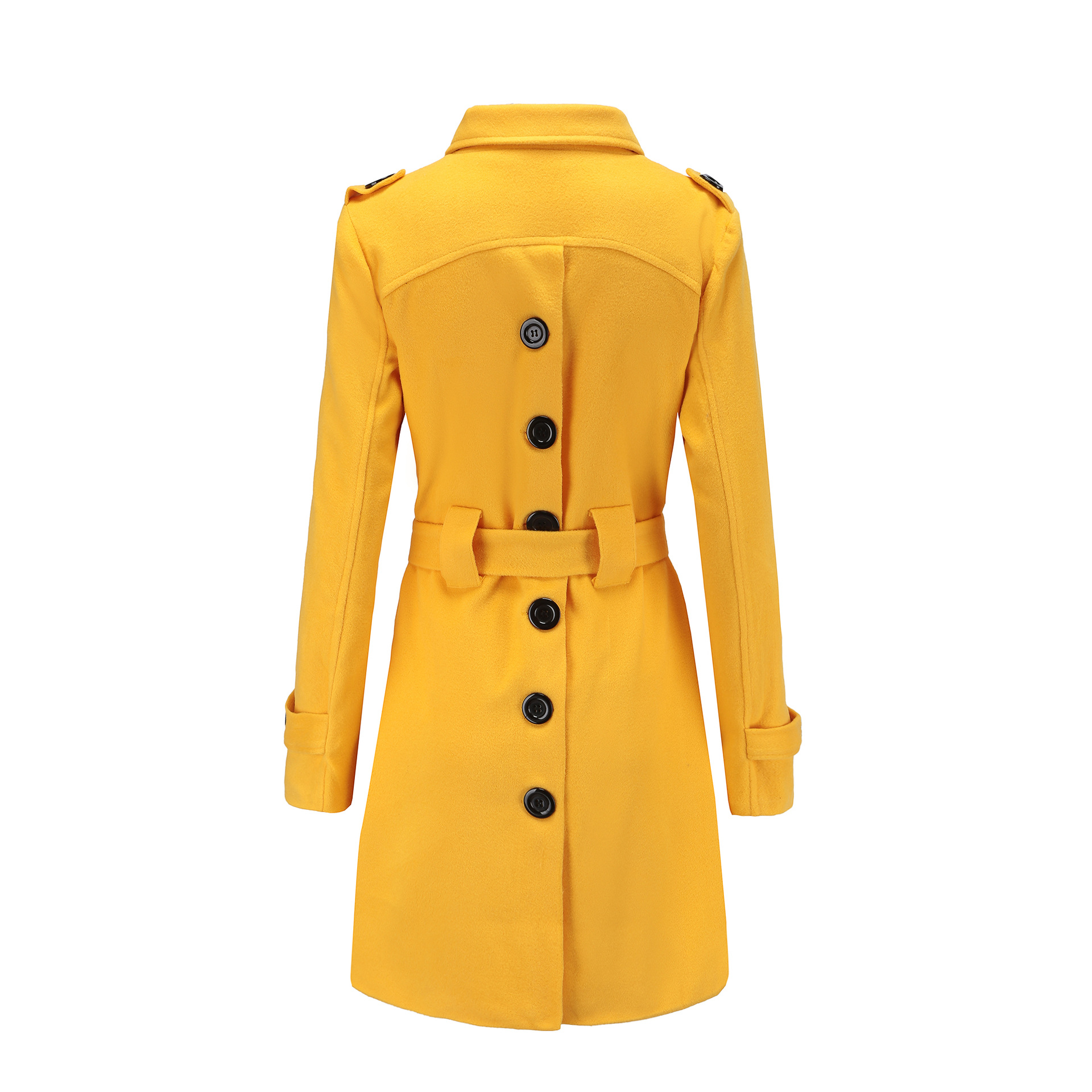 Low price new design windproof women coat soft wool lady jacket