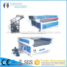 High speed fabric cnc laser cutter auto feeding laser cutting machine for leather cutton garment