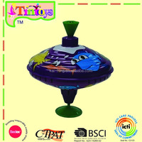 Medium spinning Humming top with sound tin tops toys toys