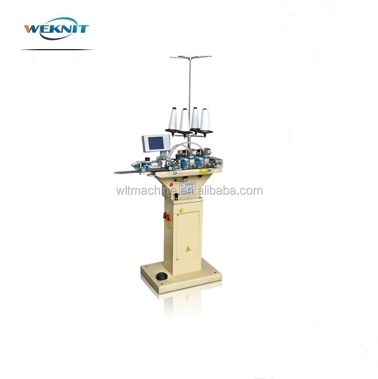 Automatic looping machine to sew sock toe automatic sewing machine