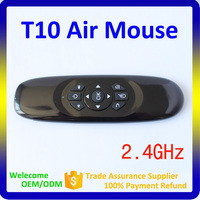 T10 2.4G Mini Fly Air Gyro Mouse Wireless Keyboard