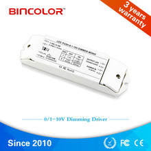 0-10v push dim, 12V 350ma 700ma constant current dimmable led driver