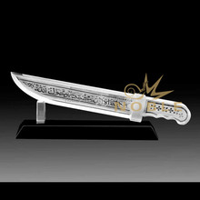 Noble Customized Islamic Muslilm Crystal Dagger Religious Gifts