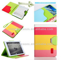 hot selling leather case for ipad mini for ipad case factory price