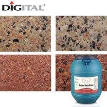 Architectural coatings exterior wall paint granite acrylic paint