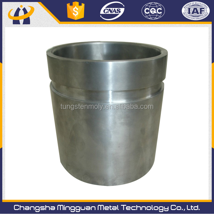 Popular Cheapest tungsten crucible for induction furnace