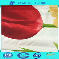 China alibaba polyester tulip disperse printed bedding set fabric