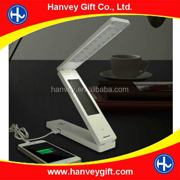 Flexible Solar Desk Lamp 2015 with 18 High Light LED