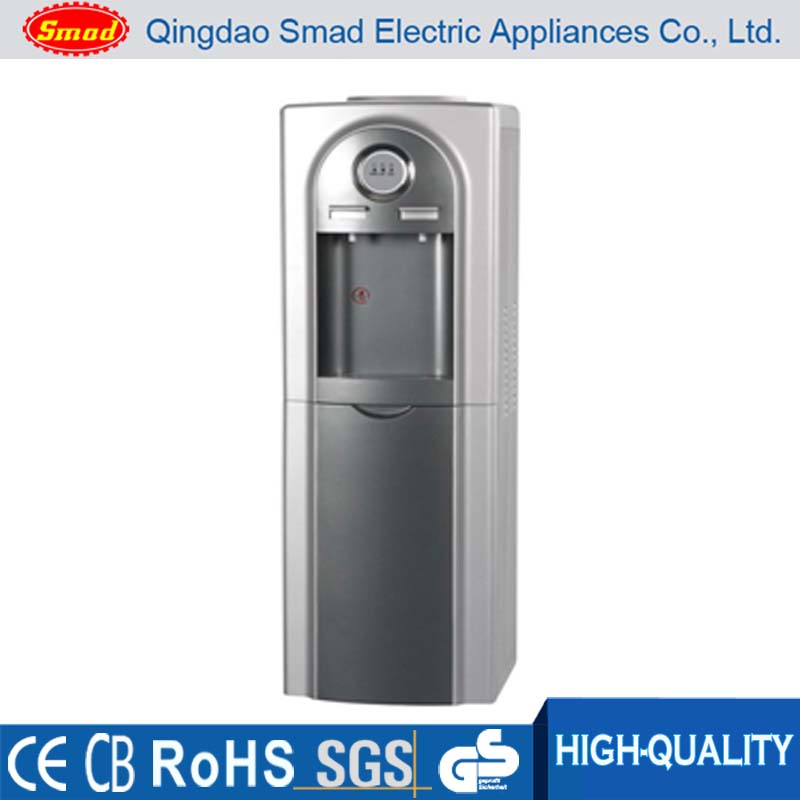 Hot, cold and room temperatures top loading water cooler dispenser