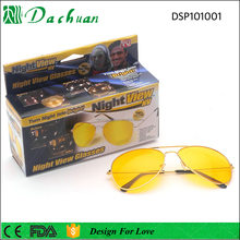 Ray band 3025 metal infrared night vision day night glasses sunglasses anti glare night driving glasses with box and case