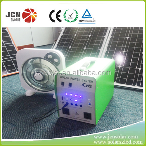 220V 300w solar generator trailers with AC output factory supplier