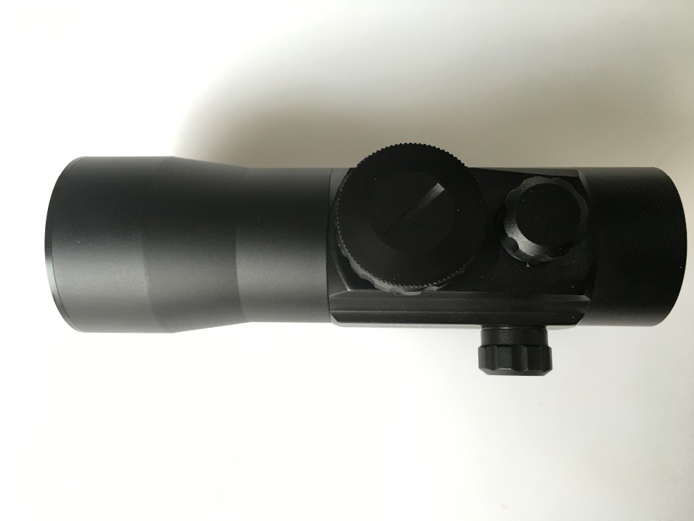 Riflescopes dual illumination 2x42 red dot sight scope used for hunting rifle/air guns