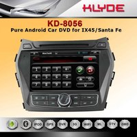 Pure Android 4.2 Rockchip A9 dual-core car dvd player for IX45/Santa Fe 2013
