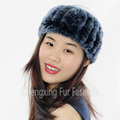 CX-E-37K Top Quality Knitted Many Colors Rex Rabbit Fur Wholesale Knit Headbands