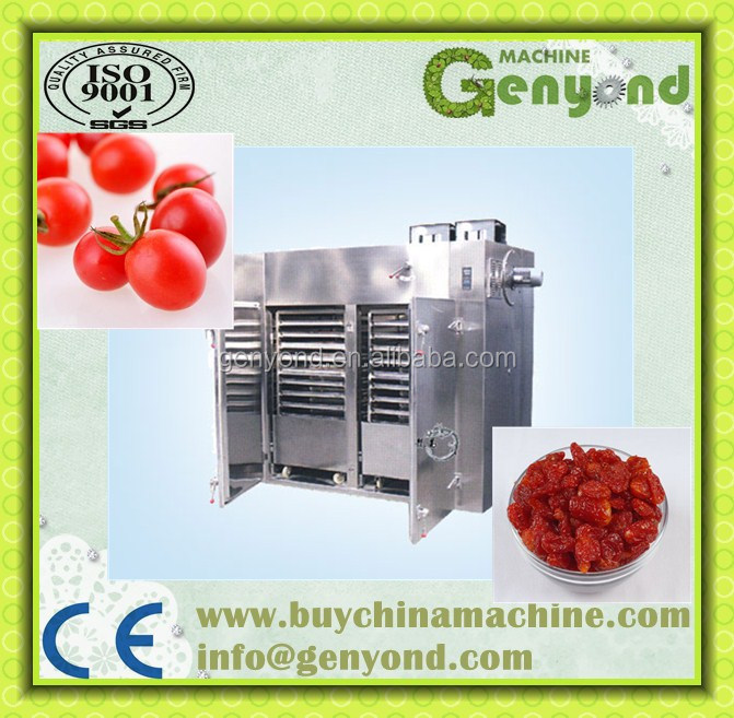 commercial dried fruit and vegetable processing line / dried cherry tomato processing line
