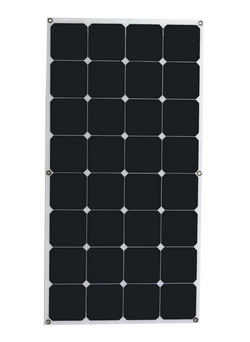 High efficiency mono 100w 120w 160w 200w semi flexible solar panel for soalr panel system with CE FCC ROHS