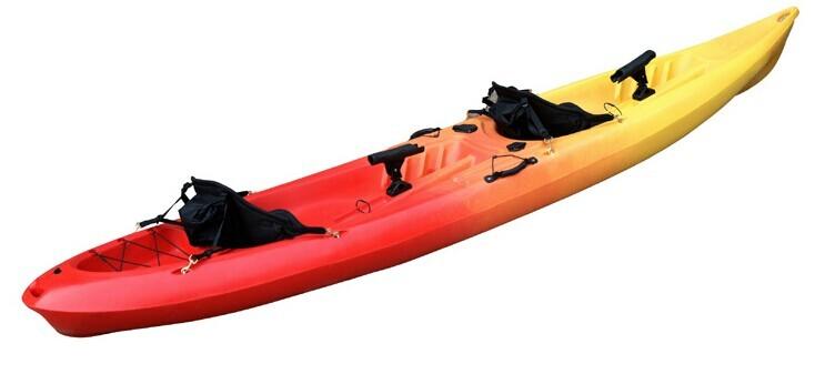 Double sit on fishing kayak not inflatable boat buy for Double fishing kayak