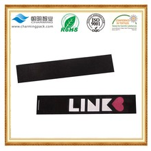 High quality printed care label /polyester taffeta label/clothing washing label