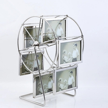 New-style Rotating Picture/Photograph/Photo Metal Frame Display Rack