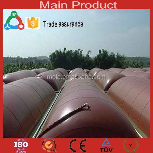 Green Energy Reinforce new energy incredible affordable High-strength High-intensitive vegetable waste biogas tank