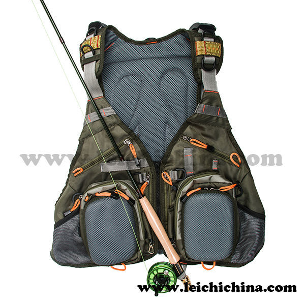 Best quality waterproof fly fishing vest pack view fly for Best fishing vest