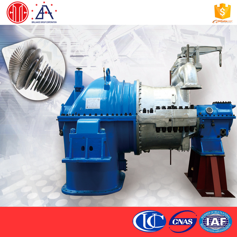 Professional Industrial Application 48MW Power Generation CITIC 10Kw Generator Condensing Steam Turbine