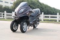 Japan hot sale new design classic 150cc 250cc 300cc eec trike automatic gas scooter motorcycle