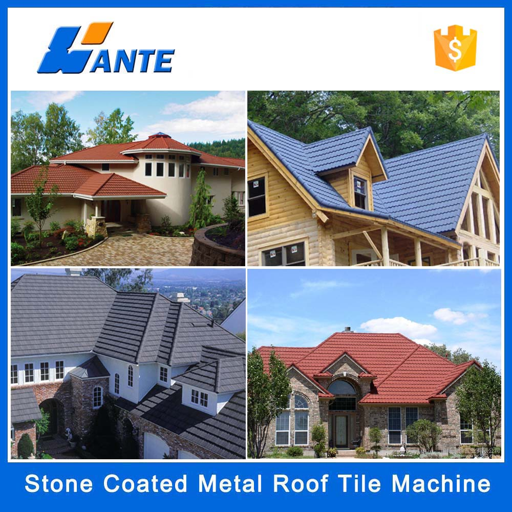 trade assurance solar roof tiles stone coated metal roof tile for house metal roof tile - Metal Tile Home 2016