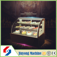 supermarket pastry display cabinet with anti-fog function