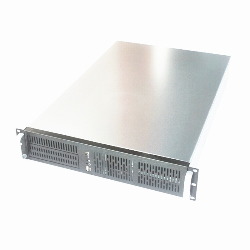 2U Server Chassis 7 Bays Driver 1mm Thickness 19 inch Rack Mount 650mm Length