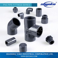 Made in China best selling upvc pipe fitting
