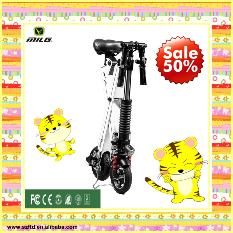 two wheel electric scooter folding e - bike exercise bike for youth