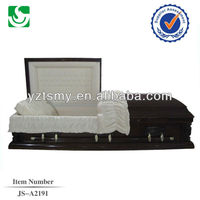 Paulownia wooden funeral caskets for sale