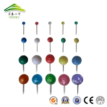 5 Sizes Multicolor Round Ball Head Thumb Tack Push Map Pins For Marking