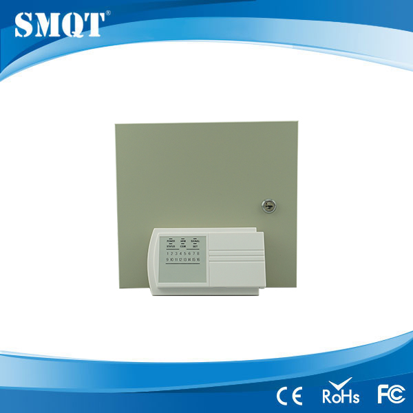 8 Zones Wired Burglar Alarm Panel EB-840