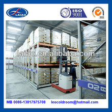 negative cold storage with racks 100T