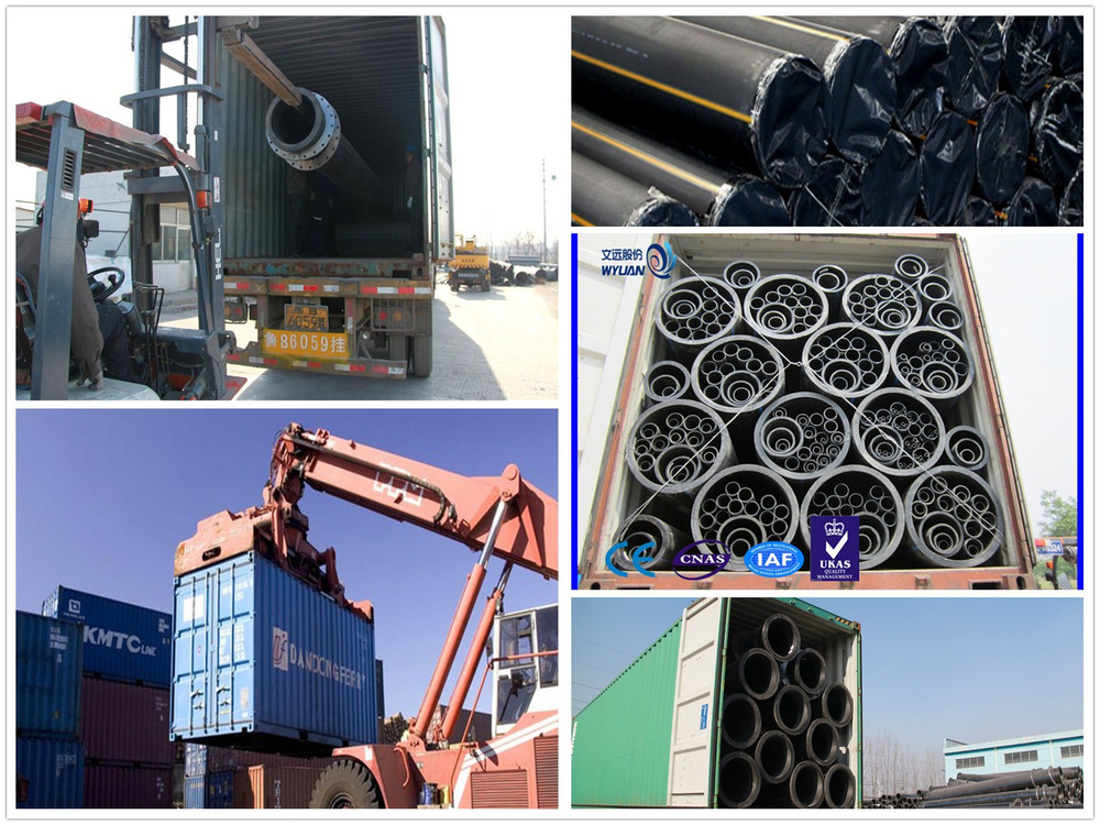 Modular HDPE Mining pipe best price