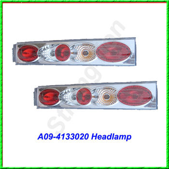 Kinglong higer yutong bus headlight suitable for bus parts
