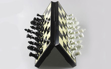 High quality price for chess clock folding magnetic baseball chess game Folding magnetic chess