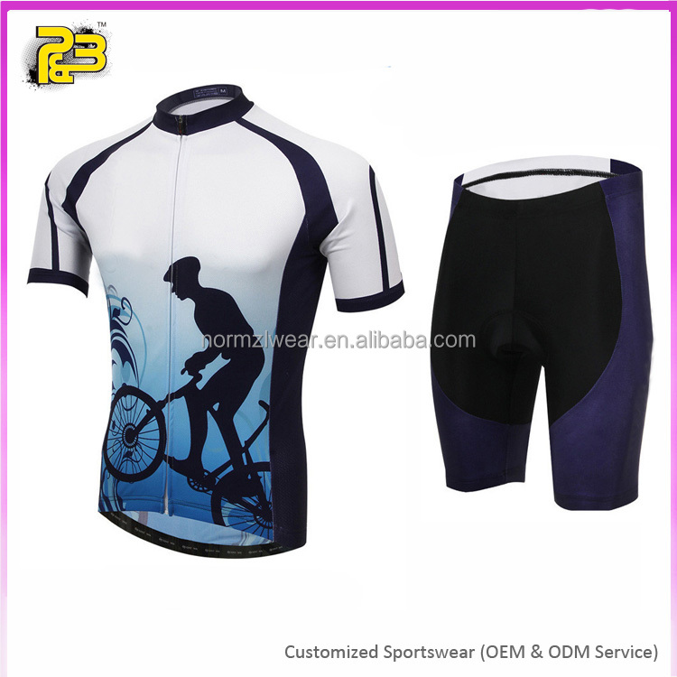 Custom Sublimation Normzl Mountain bikes cycling jersey custom cycling wear
