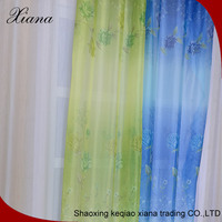 High quality polyester curtain printed curtain fabric office window curtain