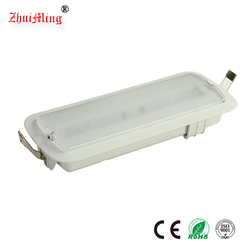 LED Emergency Ceiling Embedded Lighting Fixtures 3w