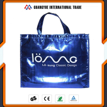Guangyue China Fashion Aluminum Film Coated PP Non Woven Shopping Bag Manufacturers