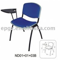 Plastic office meeting chair and tablet FS-18