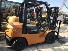 good quality 8FD30 7FD30 JAPAN 3 ton used manual forklift TOYOTA